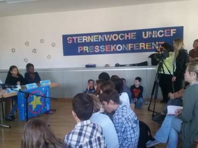 Kinder-Pressekonferenz in St.Gallen