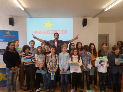 Divertimento an Kinder-Pressekonferen in St.Gallen